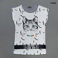 "Туника ""Кошка"" женская. S-M, фото 1"