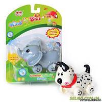 Заводная игрушка 6501-02 A 2 вида (слон,собака)