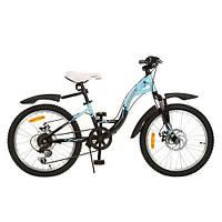 Велосипед Profi Trike 20 дюймов G20K419-2 черно-голубой