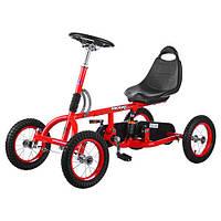 Педальная машина Карт M 1697-3-2 Formula красно-черный