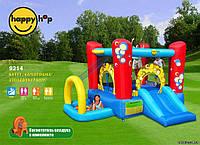 Детский надувной батут HAPPY-HOP Капитошка с горкой и шариковым бассейном 9214 HAPPY-HOP игровой центр
