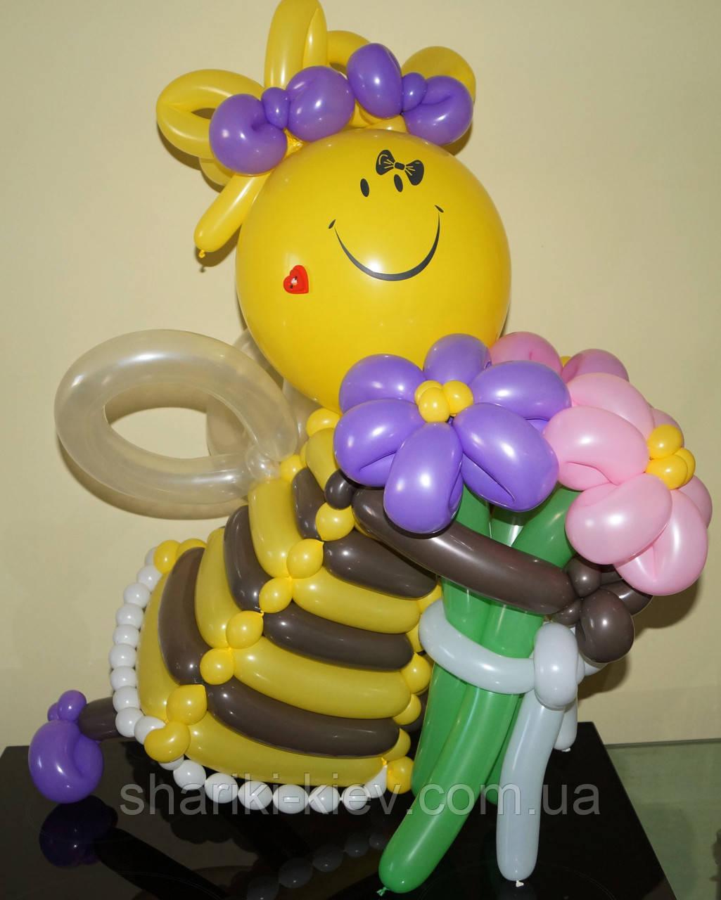Девочка феечка с букетом Ромашек на День рождения