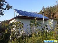 Автономно-резервная солнечная электростанция 4 кВт