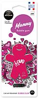Освежитель Aroma Car Manny ♨ аромат Bubble Gum