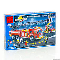 BRICK 908 (18) Пожарная тревога, 607 деталей, в коробке