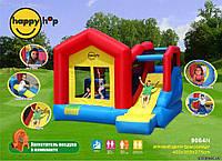 Детский надувной батут с горкой Дом солнца 9064N HAPPY-HOP игровой центр