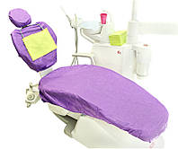Чехол для стоматологического кресла лиловый