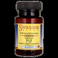 Пиридоксаль-5-фосфат / P-5-P (Pyridoxal-5-Phosphate) Coenzymated Vitamin B-6, 40 мг 60 капсул