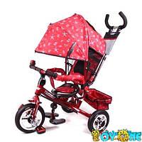 Велосипед М 5361-5 трехколесный детский,надувные колеса TURBO TRIKE