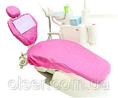 Чехол для стоматологического кресла фуксия