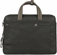 Мужской вместительный портфель из натуральной кожи Piquadro Vibe/Grey-Taupe, CA1903VI_GRTO темно-серый