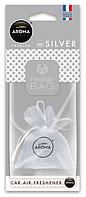 Освежитель Aroma Car Prestige fresh bag ♨ аромат silver