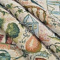 Ткань гобелен Сад