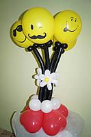 Букет из шариков Человечки на День рождения