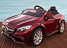 Детский электромобиль Mercedes AMG M 2797 EBLRS-3 АВТОПОКРАСКА и кожаносе сиденье - мягкие колеса