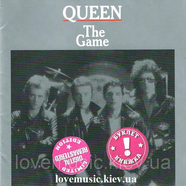 Музичний сд диск QUEEN The game (1980) (audio cd)