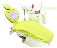 Чехол для стоматологического кресла салатовый