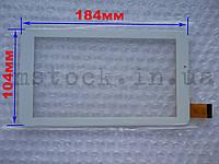 Touch screen (Сенсор) Uni Pad DR-UDM04A13QC, ER-UDM04D-13QD (184*104) Белый (TEST OK)