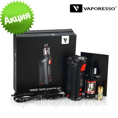 Электронная сигарета VAPORESSO Target 75W VTC Black - Интернет - магазин Fitopsor в Киеве