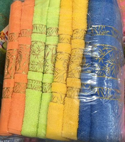 Полотенце лицевое хлопок+бамбук (8 шт), фото 2