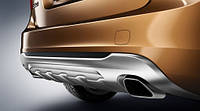 Насадки глушителя прямоугольные для Volvo V60 Новые Оригинальные