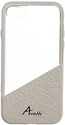 Чехол для мобильного телефона Avatti Mela Duo Cover White для iPhone 7
