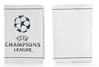 """Кожаная обложка на паспорт """"Лига Чемпионов"""" обложки на паспорт"""