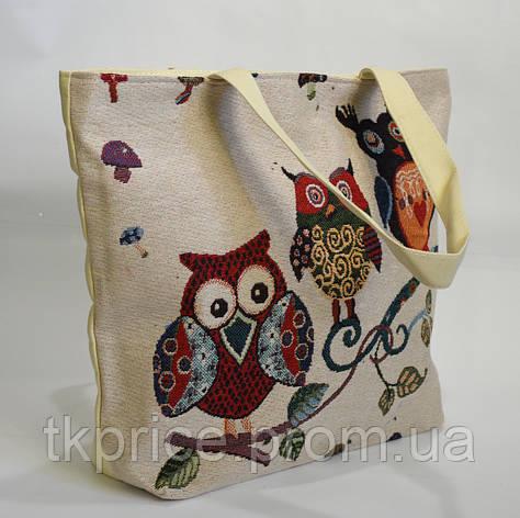 Пляжная сумка хлопковая, фото 2