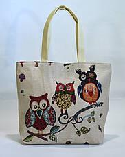 Пляжная сумка хлопковая, фото 3