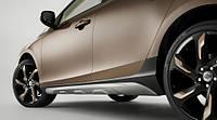 Накладки на пороги для Volvo V40 Cross Country Новые Оригинальные