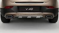 Накладка заднего бампера для Volvo V40 Cross Country Новая Оригинальная