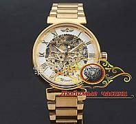 """Наручные часы """"Полые механические часы в золотом цвете""""., фото 1"""