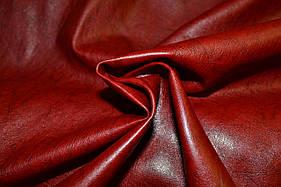 Шкіра штучна (кожвініл) на тканинній основі коричнева