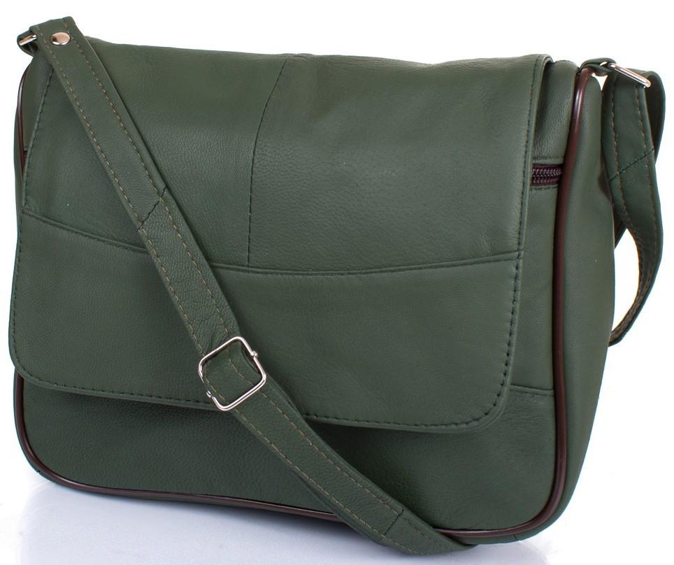 0b174da7a920 Женская кожаная сумка-почтальонка TUNONA SK2416-4-1 - SUPERSUMKA интернет  магазин в
