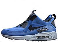 Мужские кроссовки Nike Air Max 90 Sneakerboot Blue/Black