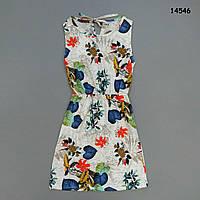 Летнее платье для девочки (подросток). S-M, L-XL