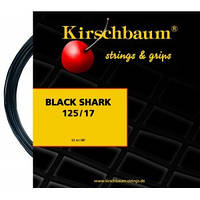 Теннисные струны Kirschbaum Black Shark 12m(размотка с бобины)