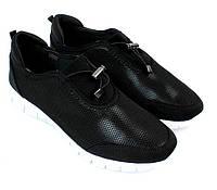 Женские летние кроссовки Valdez чёрного цвета
