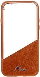 Чехол для мобильного телефона Avatti Mela Duo Cover Brown для iPhone 7