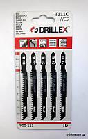 Пилочки для электролобзика Drillex   T111C HCS (5 шт.)