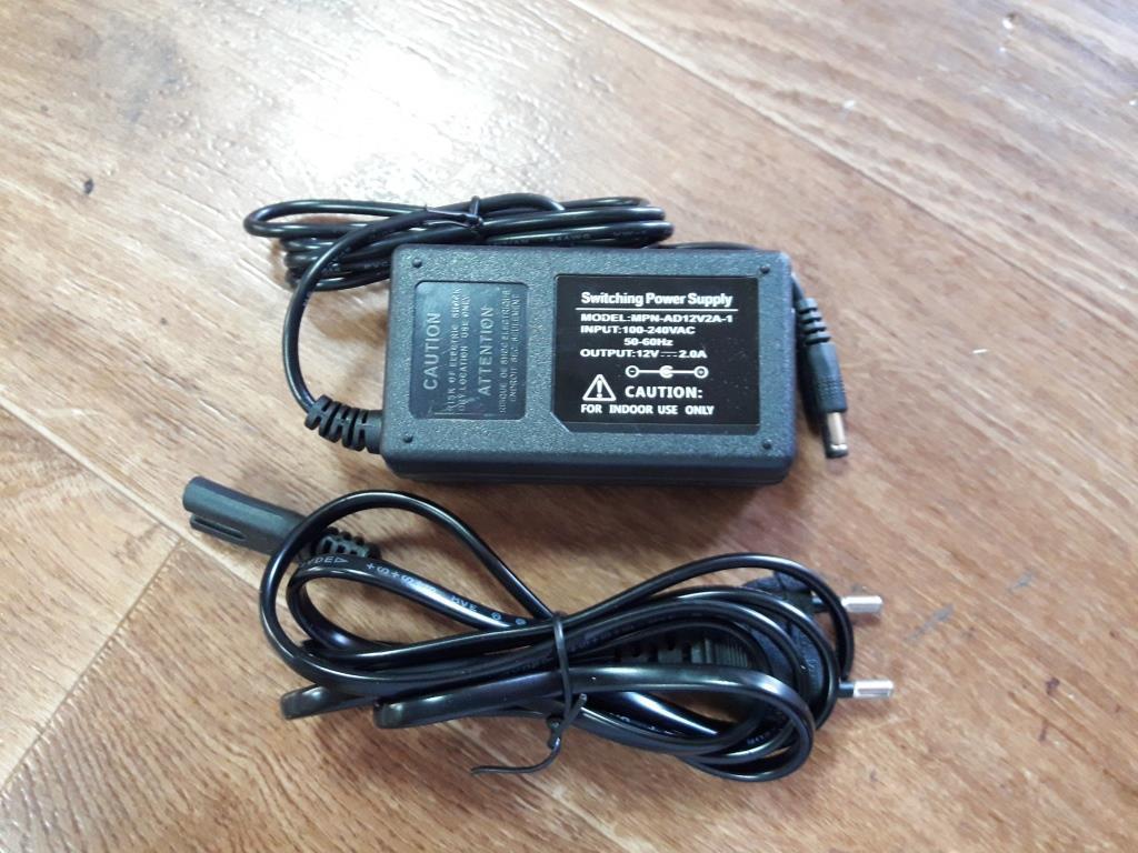 Блок живлення (адаптер) 12V 24W-2А