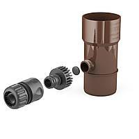 Дождевой водозаборник BRYZA 90 мм, коричневый
