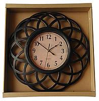 Настенные часы QUARTZ с узором, круглые