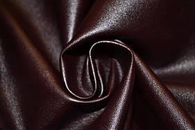 Шкіра штучна (кожвініл) на тканинній основі темно бордовий