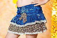 """Детская стильная джинсовая юбка """"Бантик"""""""