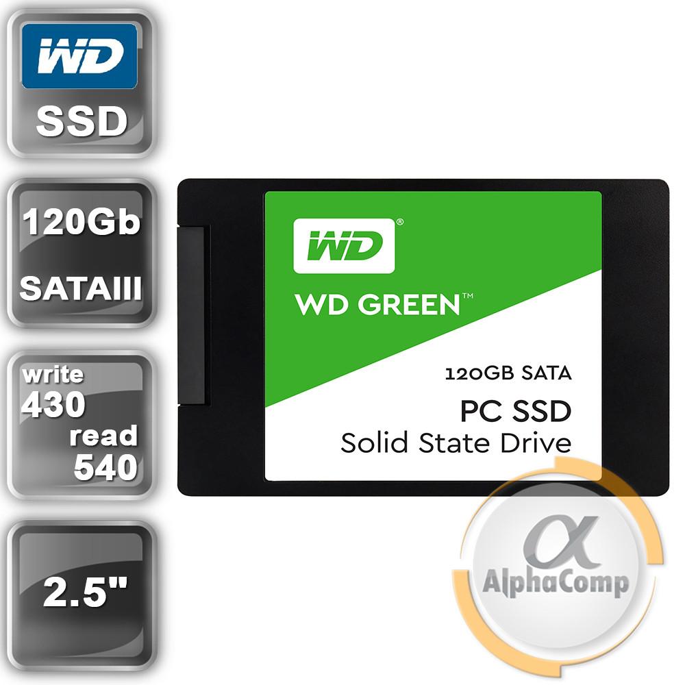 "Накопитель SSD 2.5"" 120GB WD Green (WDS120G1G0A) (SATA III)"