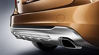 Накладка заднего бампера для Volvo S60 Новая Оригинальная