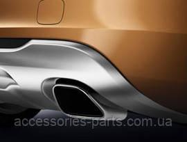 Насадки глушителя прямоугольные для Volvo S60 Новые Оригинальные