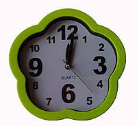 Настольные часы в форме цветка