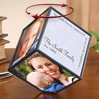 Вращающийся куб с фотографиями (уценка)